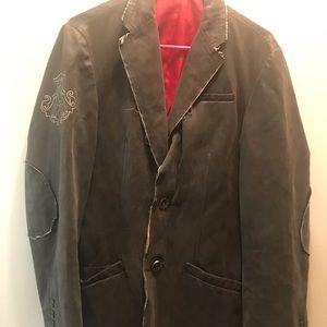 Archaic mens blazer, super edgy.